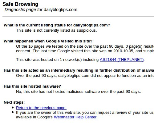 google-safe-browsing