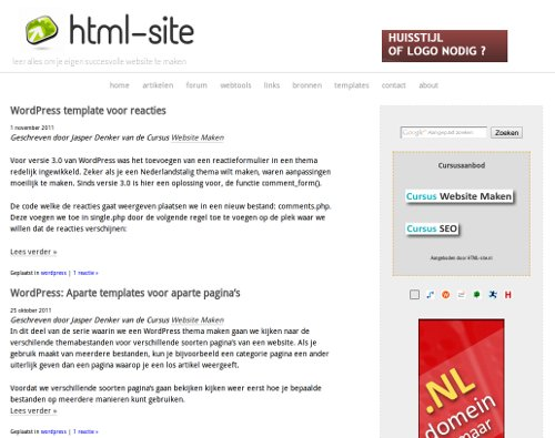 html-site