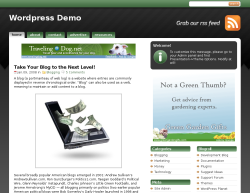 studiopress green theme