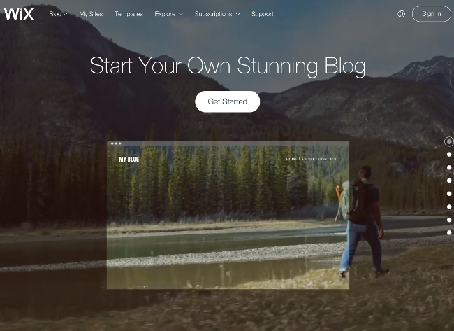 how to add a blog to a wix site
