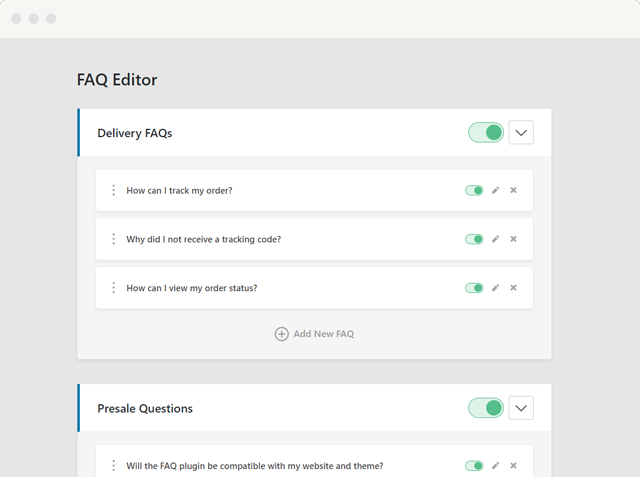 Need a FAQ for Your Site or Blog? Check the WordPress FAQ Plugin