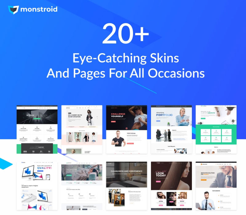 New Update Of The Multipurpose Monstroid Theme